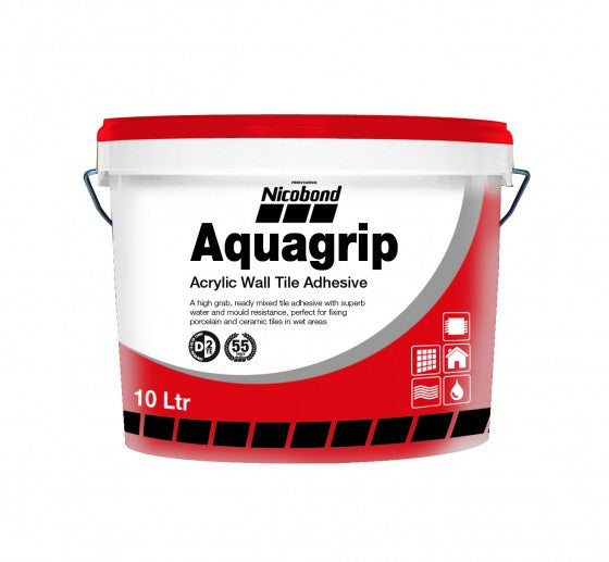 nicobond aquagrip tile adhesive horley tiling adhesive grout