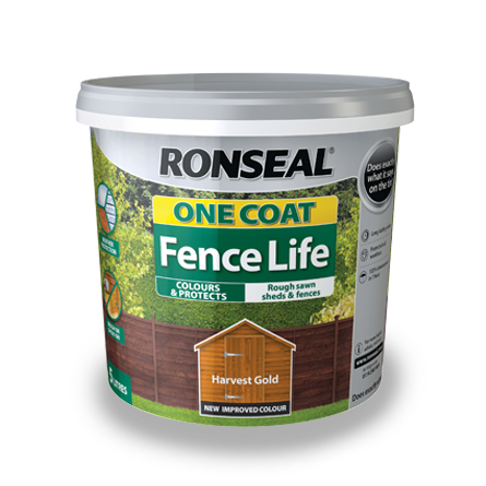 ronseal one coat fence life paint garden paint horley she paint