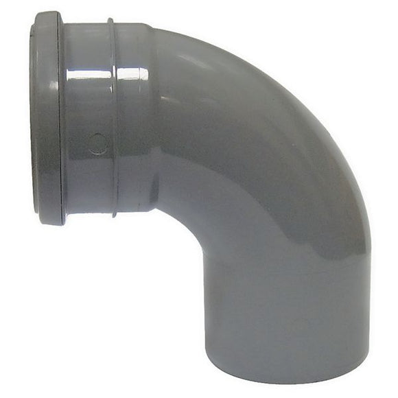 Soil Pipe Bend Socket/Spigot 92.5° 110mm
