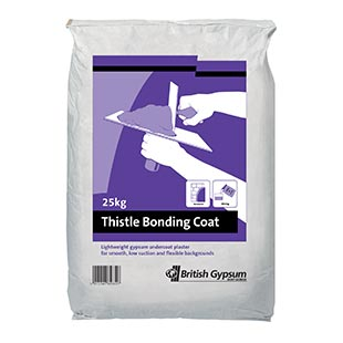 British gypsum bonding plaster coat 25kg
