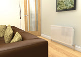 Henrad Type 21 Compact Single Convector Radiator H300 x L500