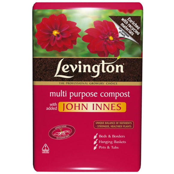 Levington multi purpose compost 20 litres horley gardeniing soil