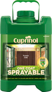 Cuprinol shed and fence paint sprayable paint horley exterior paint