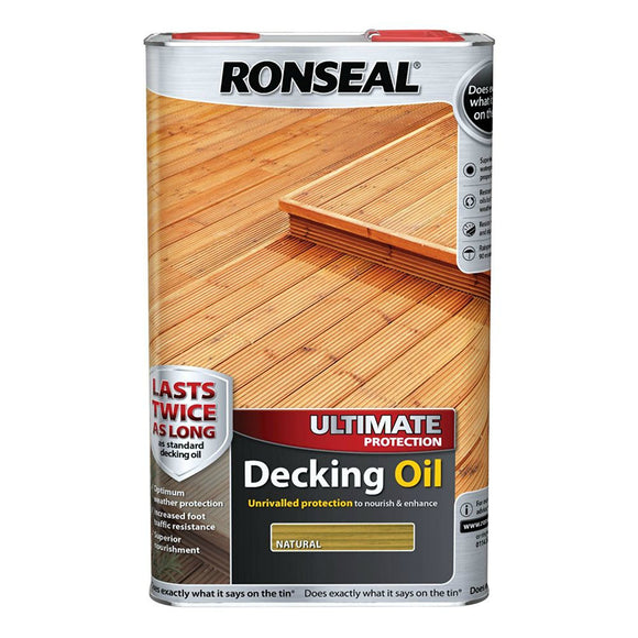 Ultimate Protection Decking Oil Natural 5L