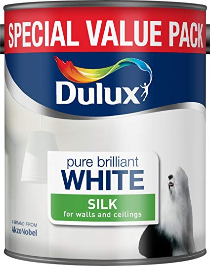 Dulux Silk Emulsion White 3L