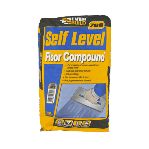 everbuild 708 self levelling floor compound horley