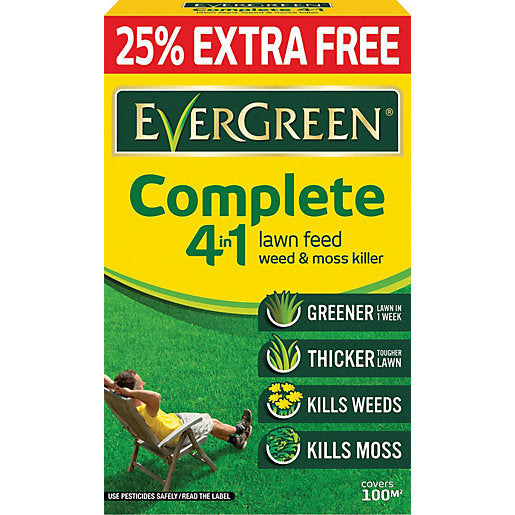 Evergreen Complete 4 in 1 Lawn Feed