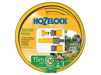 Hozelock Star Hose Pack + Fittings 15m