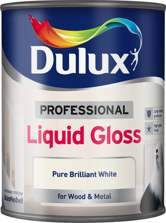 Dulux Liquid Gloss White 750ml
