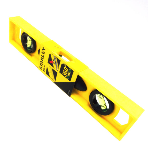Stanley high impact ABS 3 vial spirit level 30cm 1-42-474