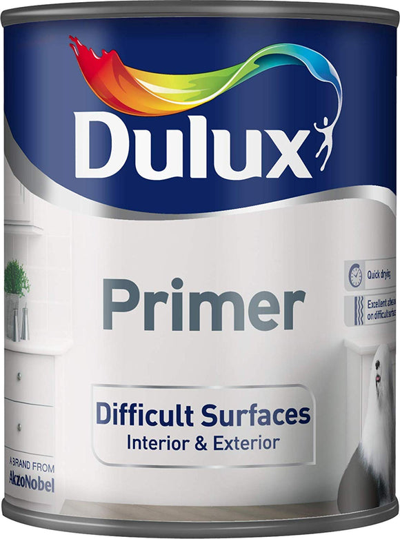 Dulux Primer Difficult Surfaces White 750ml