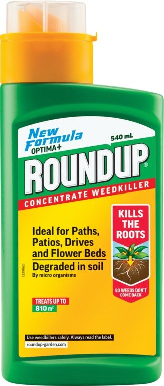 roundup total weedkiller horley concentrate