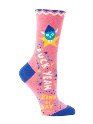 F*ck Yeah Kinda Day Socks - Fancy That