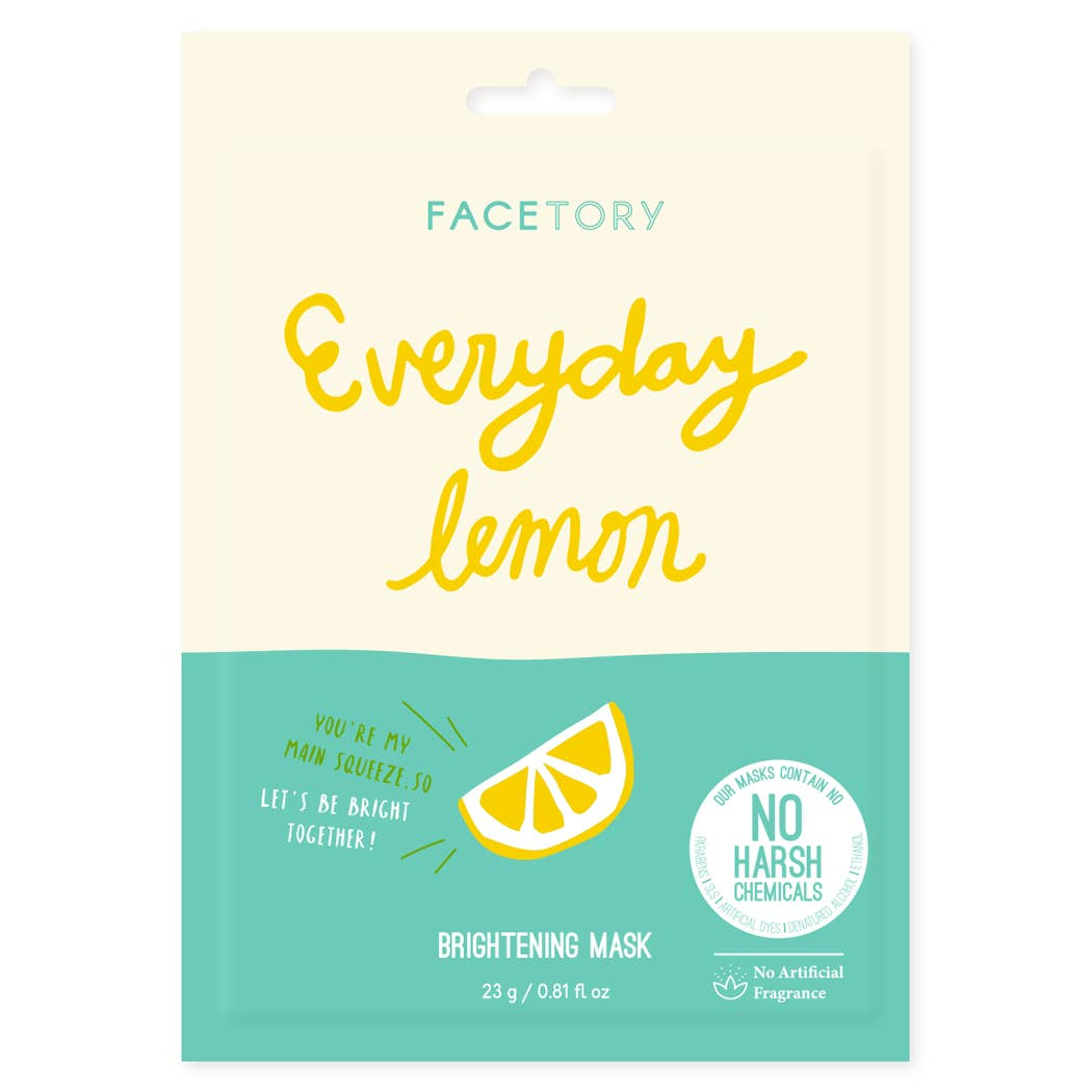 Lemon Brightening Mask - Fancy That