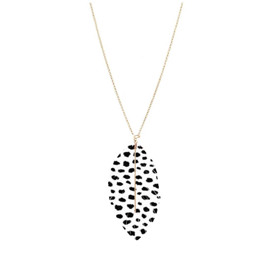 Spot On Heather Necklace - Fancy That