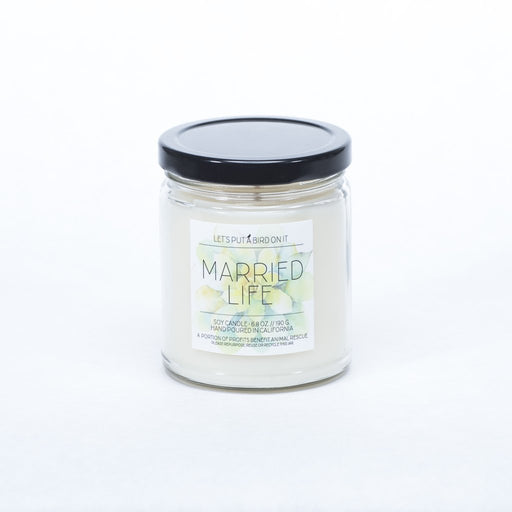 Married Life Candle - Fancy That