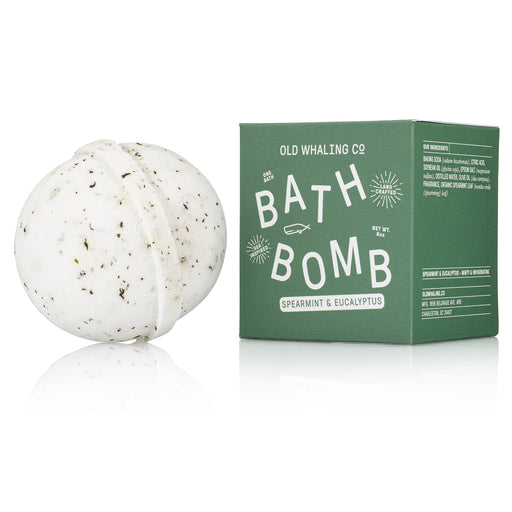 Spearmint + Eucalyptus Bath Bomb - Fancy That