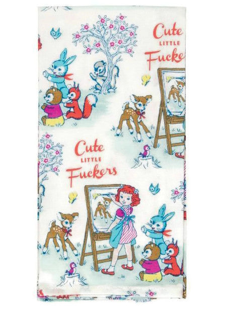 Cute Little F*ckers Dish Towel - Fancy That