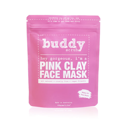 Buddy Scrub - Pink Clay Face Mask - Fancy That