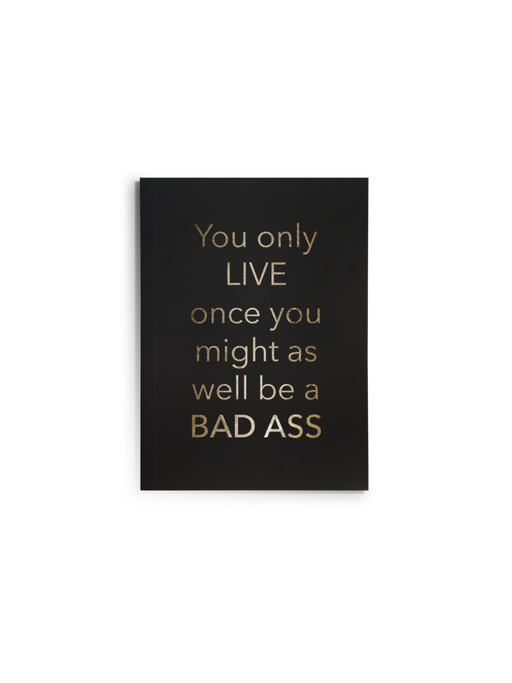 YOLO Bad Ass Journal - Fancy That
