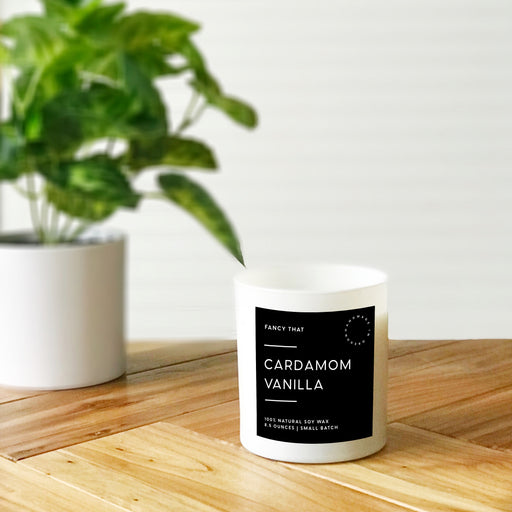 Cardamom Vanilla Candle - Fancy That