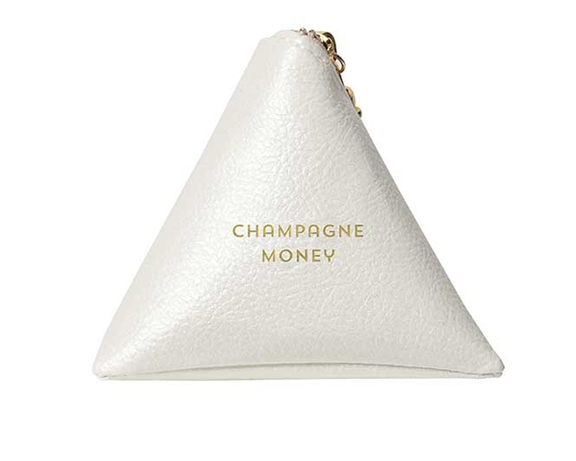 Champagne Money Change Purse