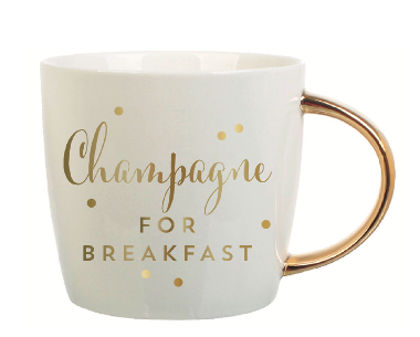 Champagne For Breakfast Mug - Fancy That