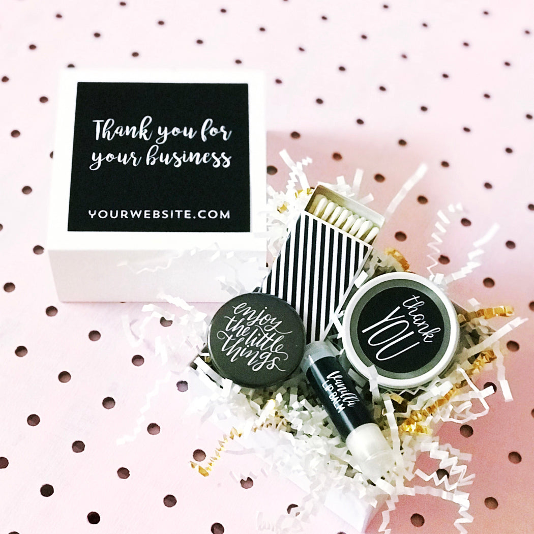 Personalized Client Thank You Gift - set of 6 - Fancy That