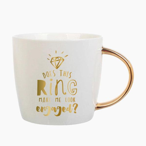 Engaged Mug - For The Bride - Fancy That