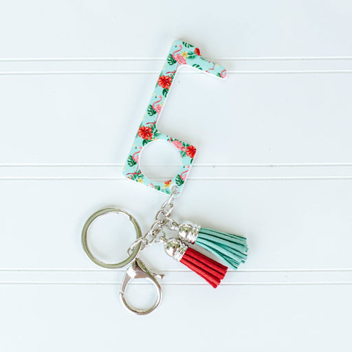 Floral No Touch Key Ring - Fancy That