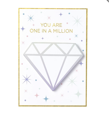 You Are One In A Million Card - Fancy That