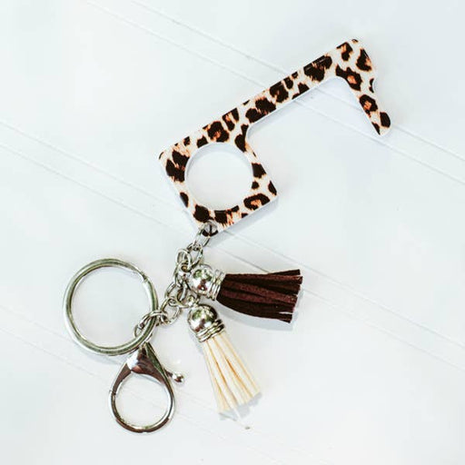 Leopard No Touch Key Ring - Fancy That