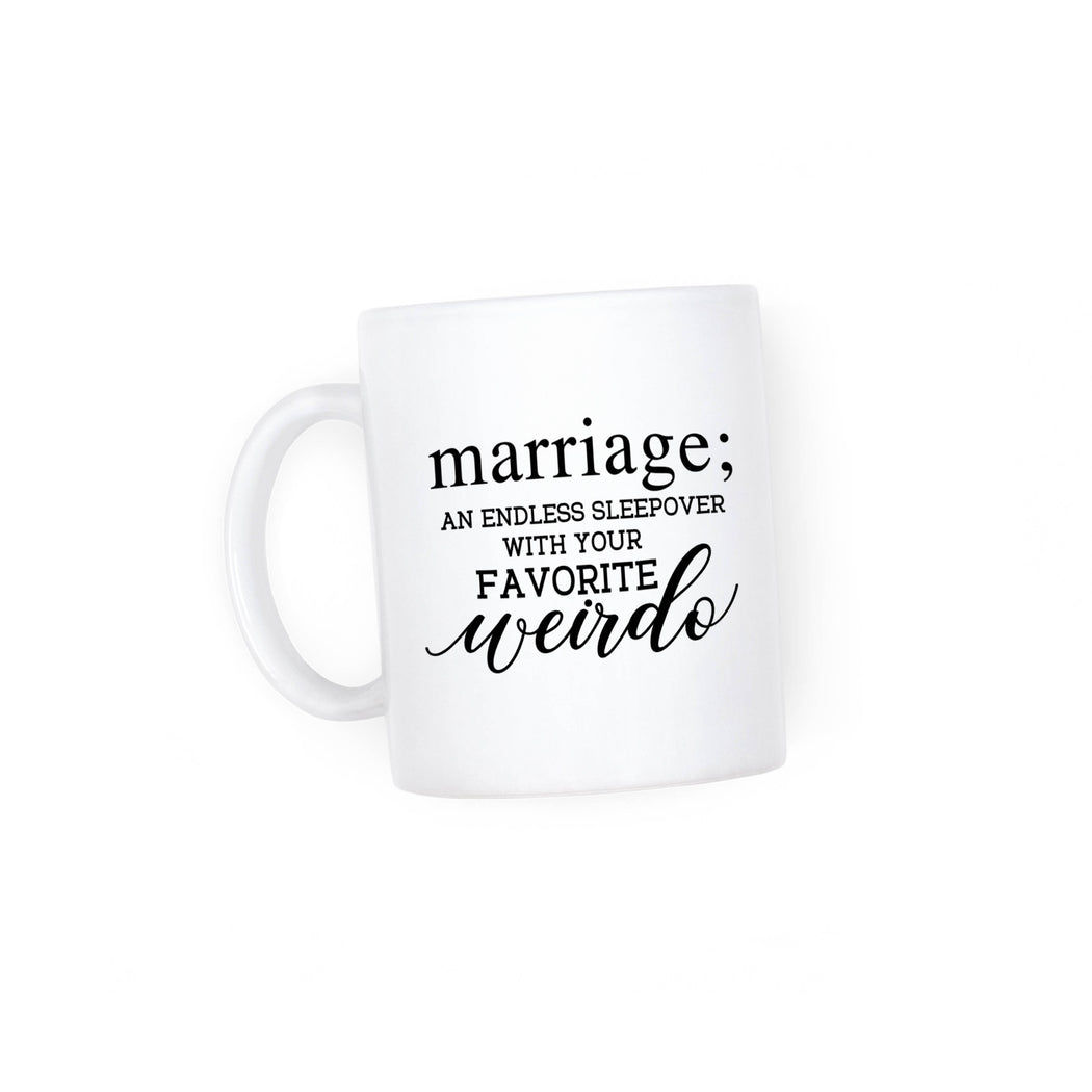 Marriage Mug - Fancy That