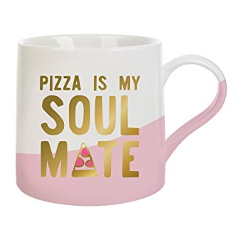 pizza is my soul mate mug