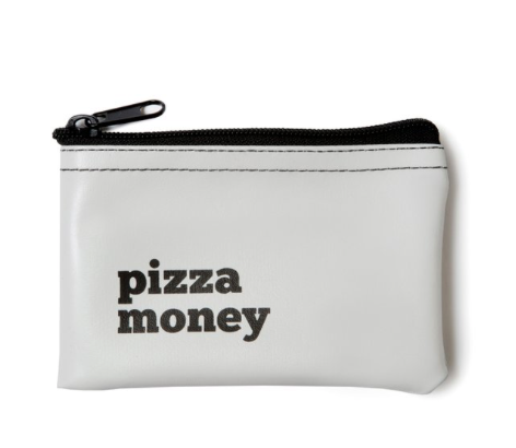 Pizza Money Vinyl Pouch - Fancy That