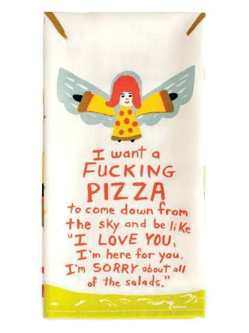 Pizza Angels Dish Towel - Fancy That