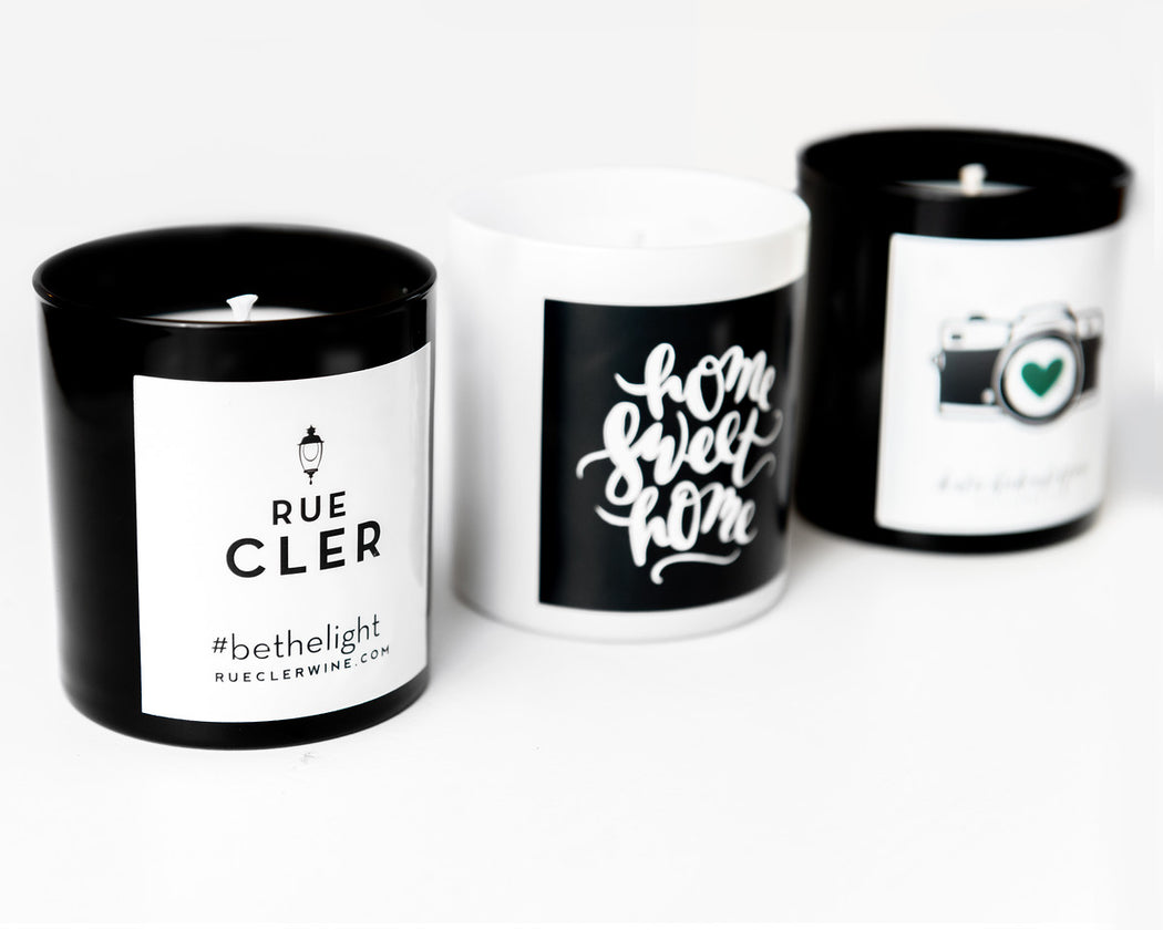 Logo Candles -  set of 6 - Fancy That