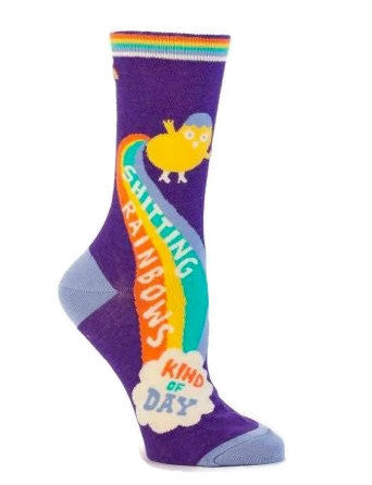 Shitting Rainbows Socks - Fancy That