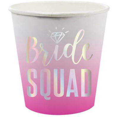 Bride Squad Shot Cups