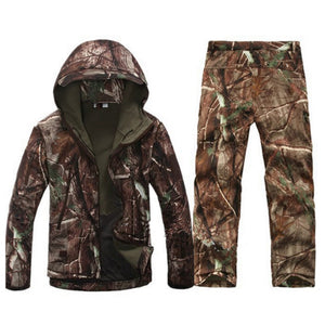 Tactical Gear Camouflage Army Waterproof Suit
