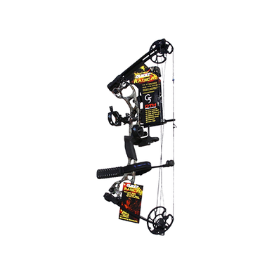 18 Quest Radical Realtree All Purpose Bow Package LH 25