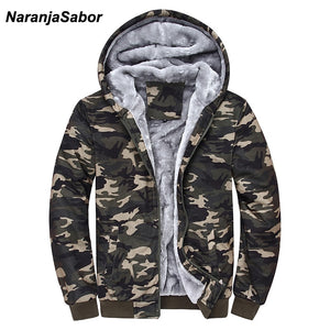 2018 Winter Camouflage Hoodies Army Green