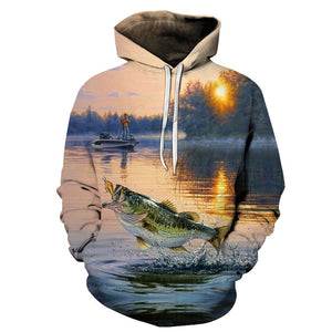 3D Tropical Fish Hoodies. Check other designs available too