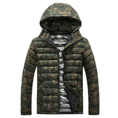 2018 Thick Warm Coat Camouflage Parkas