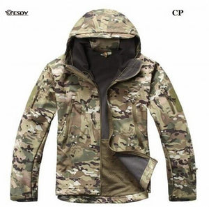 TAD V4.0 Army Camouflage Tactical Waterproof Windproof Jacket