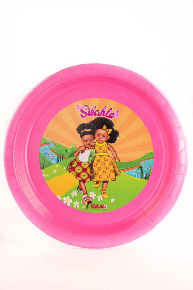 Sunshine Yellow Party Plate