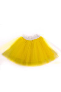 Tutu Skirt Yellow