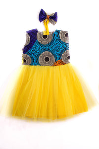Bontle or Rainbow Nation Doll & Child Matching Tutu Dress