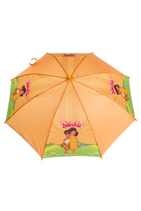 We Love Orange Umbrella