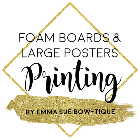 Printing - Canvas, Foam Boards, Poster Prints and Plastic Boards